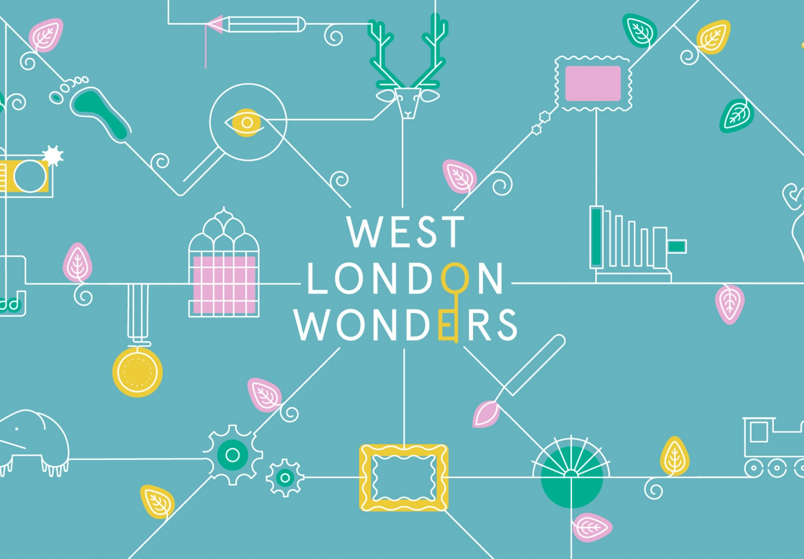 Brand identity and illustration for West London Wonders by Altogether Creative.
