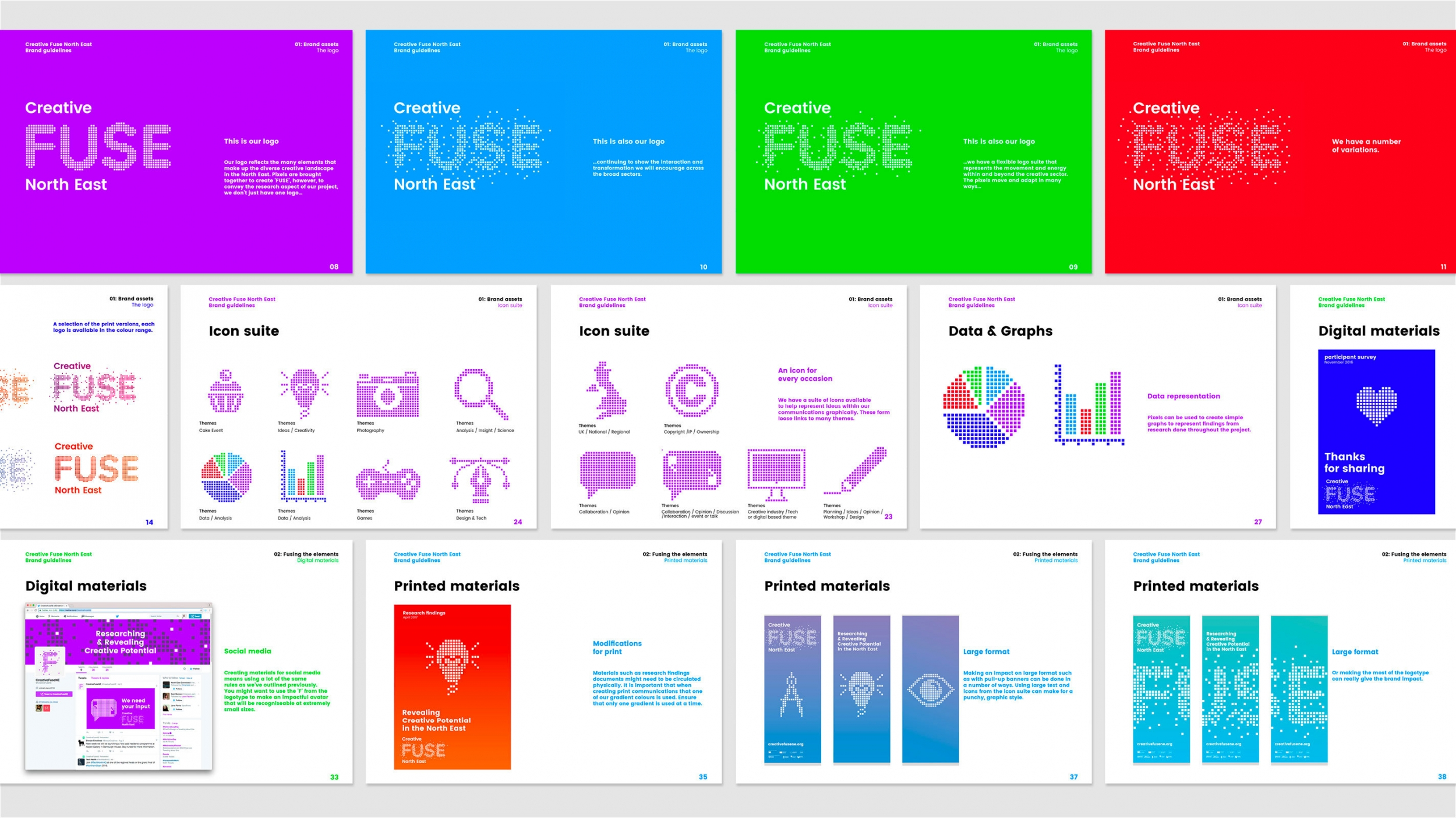 Brand identity and brand guidelines by Altogether Creative..