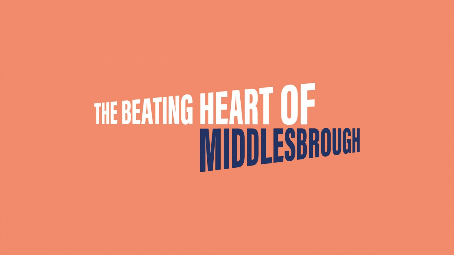 Branding, brand purpose and brand values for music venue Middlesbrough Town Hall by Altogether Creative.