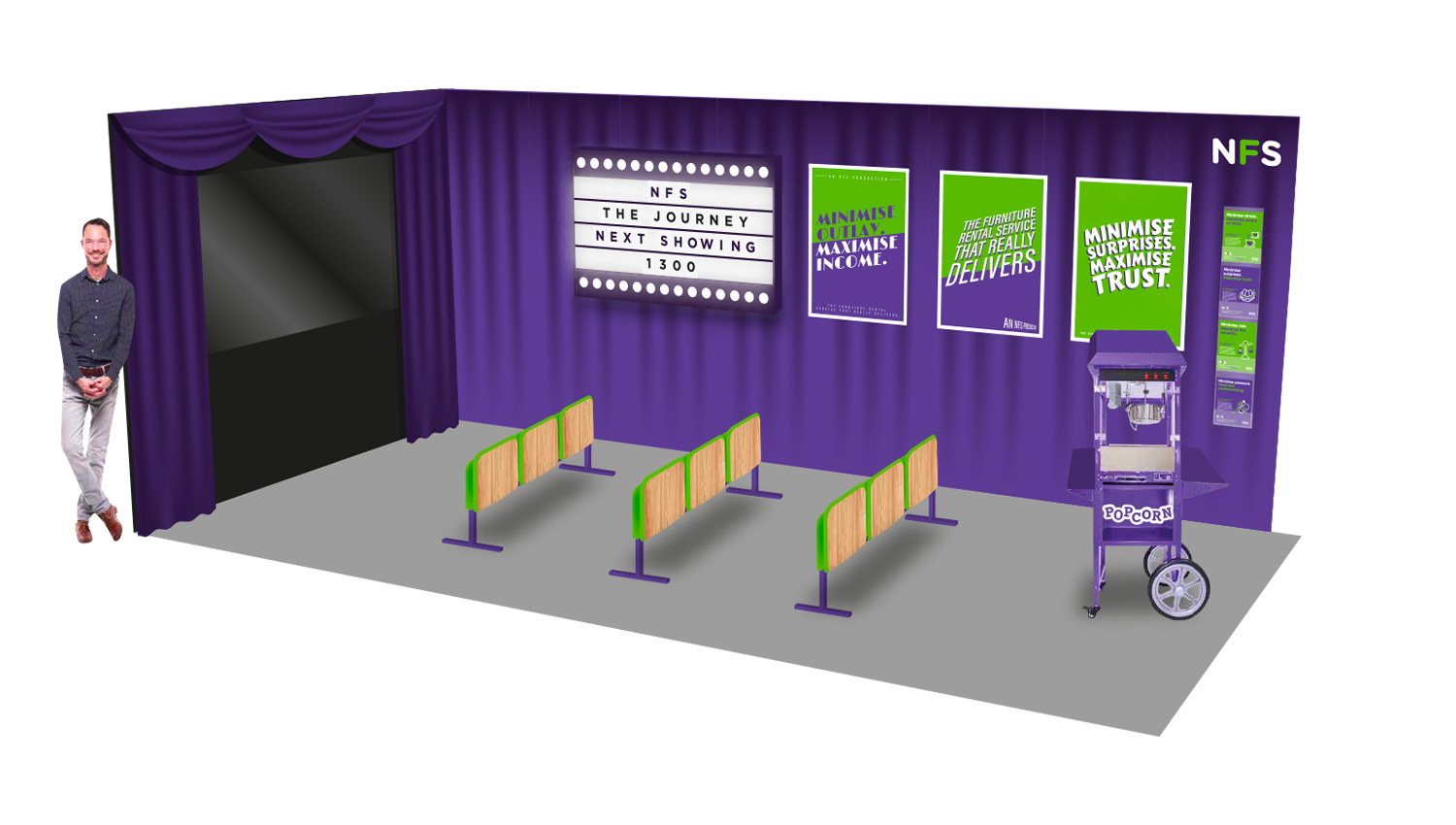 Exhibition design for Your Homes Newcastle by Altogether Creative.