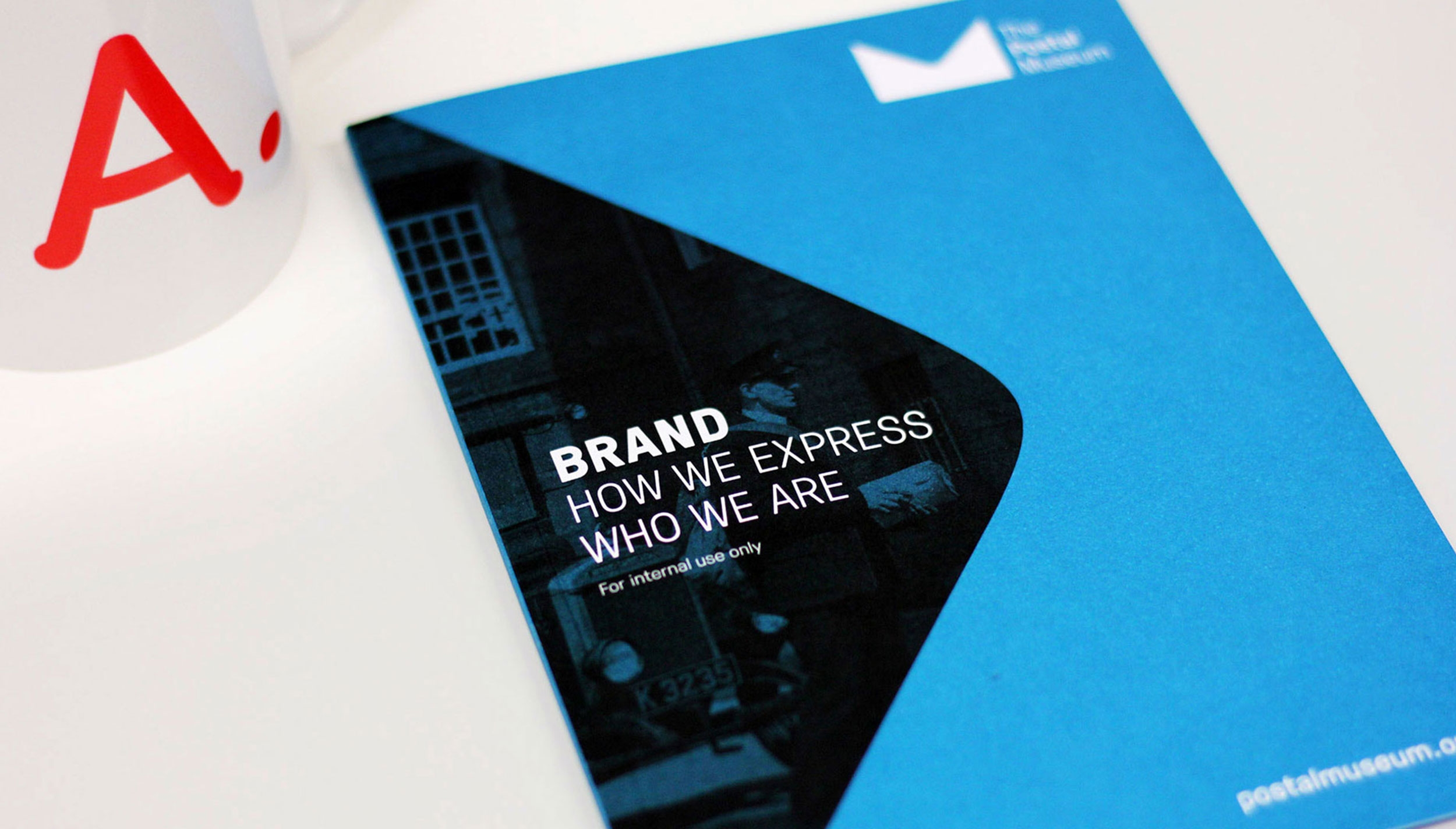 Museum brand guidelines, tone of voice, branding for the Postal Museum by Altogether Creative