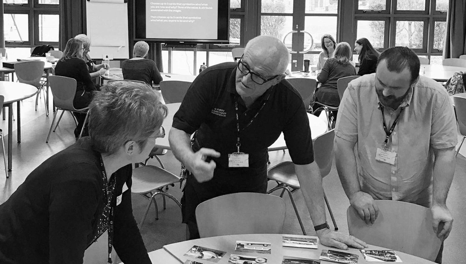 RGS Newcastle brand workshop for independent school brand facilitated by Altogether Creative.