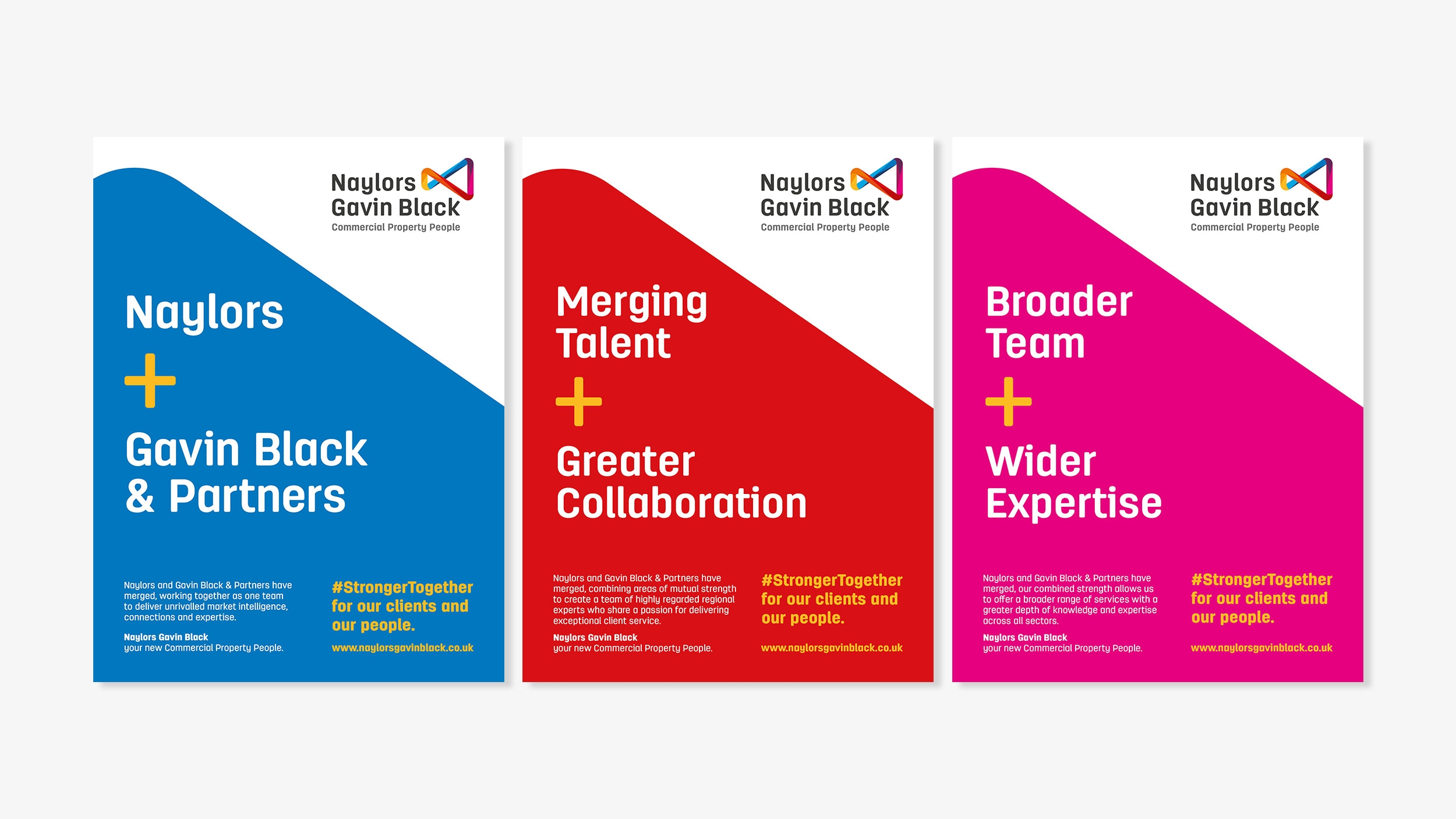 Naylors surveyors branding and advertising by Altogether creative.