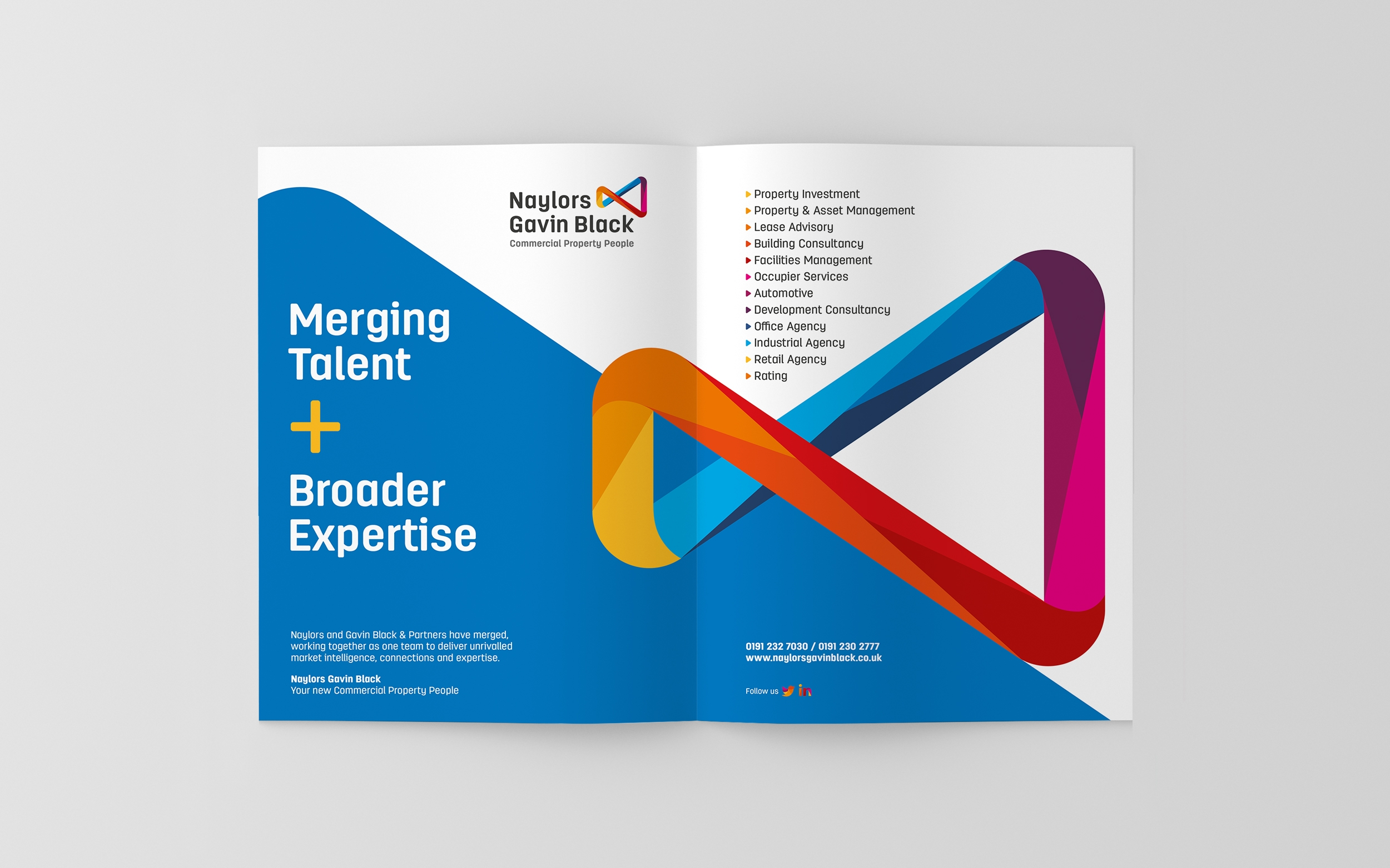 Naylors surveyors branding, brand values and brand guidelines by Altogether creative.